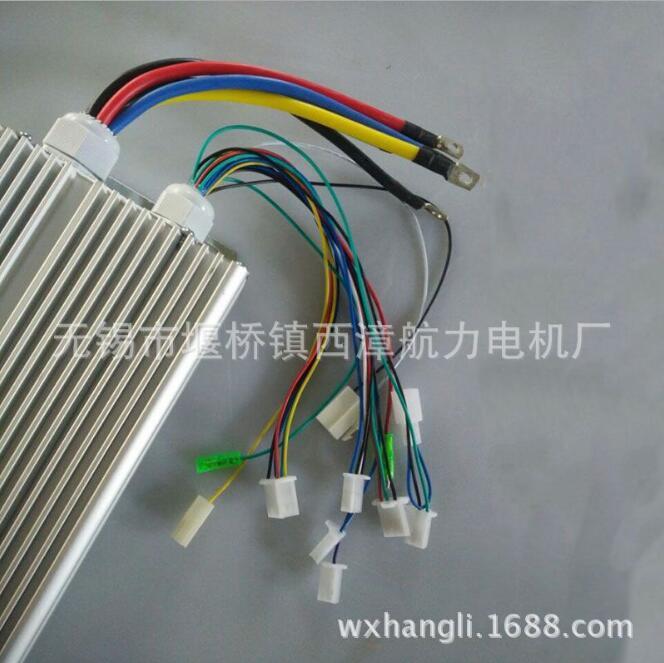 无刷控制器 60v1200w 无刷电机无刷永磁电机